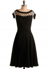 Bettie Page With Only A Wink Dress at ModCloth