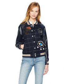 Bettie Varsity Jacket by William Rast at Amazon