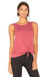 Beyond Yoga All Tied Up Racerback Tank in Imperial Rose from Revolve com at Revolve