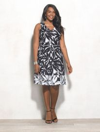 Beyond by Ashley Graham Plus Size Floral Dress at Dressbarn