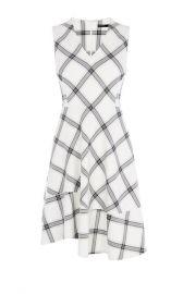 Bias Check Dress at Karen Millen