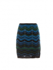 Bias plaid skirt by M Missoni at Scoop NYC
