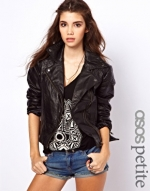 Biker jacket at ASOS at Asos