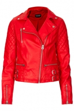 Biker jacket at Topshop at Topshop