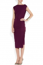 Bilbao crepe jersey dress by Roland Mouret at Net A Porter