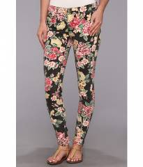 Billabong Seeker Vintage Flora Jean Off Black at 6pm