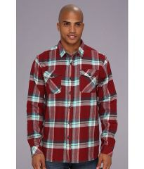 Billabong Wallingsford Flannel Red at 6pm
