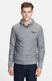 Billy Reid and39Shilohand39 Shawl Collar Pullover Sweater at Nordstrom