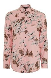 Bird in flight shirt at Topshop