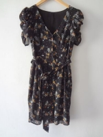 Bird print dress by HandM on ebay at Ebay