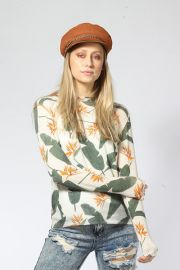 Birds of Paradise Comfy Crew Top by Knitwit at Shop Knitwit