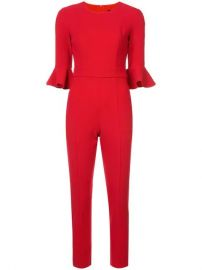 Black Halo Cropped Length Jumpsuit - Farfetch at Farfetch