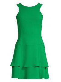 Black Halo - Cheryl Crepe Mini Dress at Saks Fifth Avenue