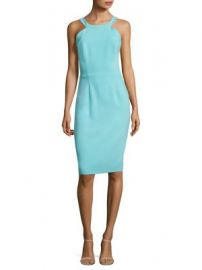 Black Halo - Marcelle Sheath Dress at Saks Fifth Avenue
