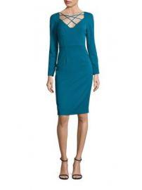 Black Halo - Masca Jade Sheath Dress at Saks Fifth Avenue