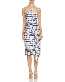 Black Halo Blythe Printed Midi Dress - 100 Bloomingdaleand039s Exclusive at Bloomingdales