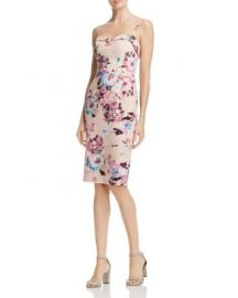 Black Halo Clover Floral-Print Dress at Bloomingdales