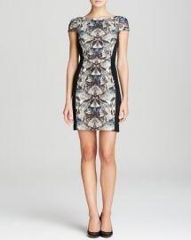 Black Halo Dress - Grayson Cap Sleeve Print at Bloomingdales