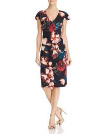 Black Halo Greyson Floral Dress Women - Bloomingdale s at Bloomingdales