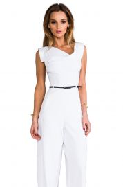 Black Halo Jackie Jumpsuit at Revolve