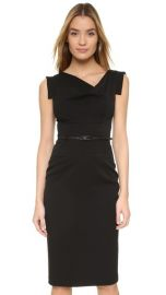 Black Halo Jackie O Belted Dress at Shopbop