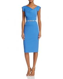 Black Halo Jackie O Belted Sheath Dress at Bloomingdales