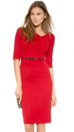 Black Halo Jackie O Dress in Red at Shopbop