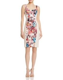 Black Halo Sadie Floral-Panel Dress - 100  Exclusive at Bloomingdales