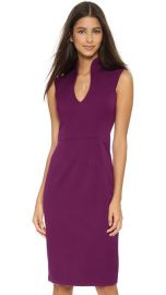 Black Halo Zara Sheath Dress in Iris at Shopbop