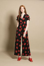 Black Poppy Althea Jumpsuit by No. 6 at Bona Drag