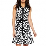 Black and white shirt dress like Spencers at JC Penney