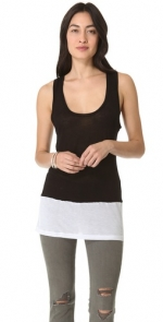 Black and white tank top at Shopbop