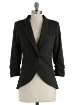 Black blazer at Modcloth