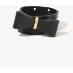 Black bow belt at Forever 21