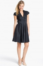 Black shirtdress by Betsey Johnson at Nordstrom