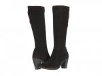 Black suede boots like Reginas at Zappos