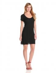 Black tshirt dress by Bobi at Amazon