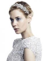 Blair's bridal headband at Jenniferbehr