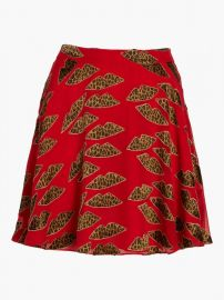 Blaise Trapeze Skirt at Olivela