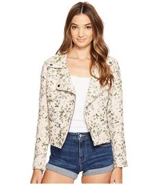 Blank NYC Floral Detailed Jacket in Stem To Stem  at 6pm