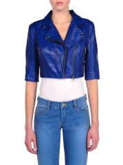Blank NYC Crop Leather Jacket at Pink Mascara
