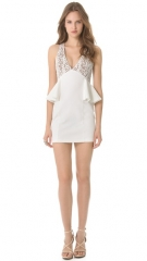 Blessand039ed are the Meek The Light Peplum Dress at Shopbop