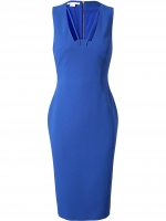 Blue Antonio Berardi cutout dress at Farfetch