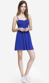 Blue Cami Sundress at Express