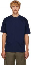 Blue Navid Logo T-Shirt at SSense