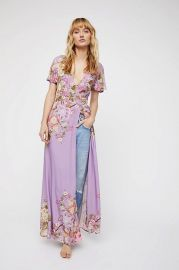 Blue Skies Wrap Maxi Dress by Spell and the Gypsy Collective at Free People