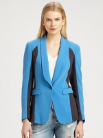 Blue blazer worn on HIMYM at Saks Fifth Avenue