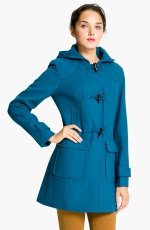 Blue duffle coat like Janes at Nordstrom