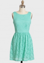 Blue lace dress from Ruche at Ruche