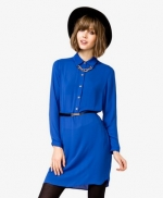 Blue shirt dress at Forever 21 at Forever 21